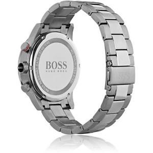 腕時計 ウォッチ ヒューゴスポーツスチールケースボスhugo boss para hombre fuerzas competitivas sport 44mm estuche de acero cuarzo reloj 1513509