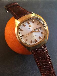 hombre zenith 【送料無料】腕時計 para reloj ウォッチ tonneau estuche automtico 2832 トノーケースクロック1970s cal mm 37,5