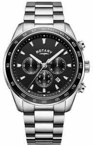 【送料無料】腕時計 ウォッチ ロータリーブレスレットクロノグラフヘンリーrotary pulsera de los hombres henley crongrafo gb0510904 relojes 5