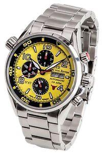 【送料無料】腕時計 ウォッチ カールフォンオリジナルクロックcarl von zeytenno 47cvz 0047 ylmb reloj hombre nuevo original