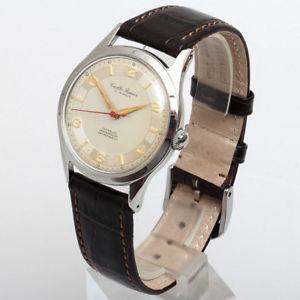 【送料無料】腕時計 ウォッチ ラグジュアリープレミアアラームキャリバーリファレンスcarlto premier de lujo reloj hombre de aprox 1960calibre as 1130referencia 499