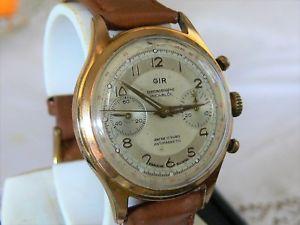 vintage cronografo reloj chronographe ウォッチ クロノグラフヴィーナスクロックビンテージorologio gir 188 【送料無料】腕時計 venus