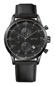 【送料無料】腕時計 ウォッチ ヒューゴボスマンクロノアラームクロノグラフブラック