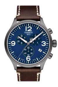 t1166173604700 cuero xl hombre ウォッチ reloj chrono 【送料無料】腕時計 ティソクロノレザーtissot pulsera