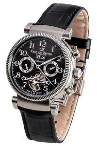 【送料無料】腕時計 ウォッチ カールフォンアラームオリジナルcarl von zeytenschluchseecvz0049gy reloj hombre nuevo original