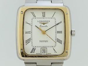 【送料無料】腕時計 フェラーリlongines quartz ferrari ウォッチ steel