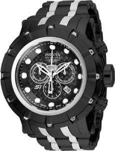【送料無料】腕時計 ウォッチ アナログスイスクオーツステンレス16760 invicta54mm hombres reserve negro cuarzo suizo analogico reloj acero