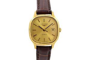 【送料無料】腕時計 ウォッチ ビンテージプチアラームvintage longines l7192 chapado en oro cuarzo mujer petite reloj 1441