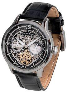 【送料無料】腕時計 ウォッチ カールフォンcarl von zeyten feldsee cvz0058bk reloj de hombre original nuevo