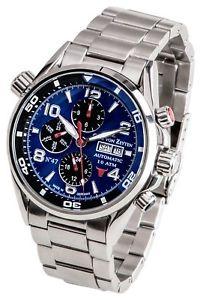 【送料無料】腕時計 ウォッチ カールフォンオリジナルクロックcarl von zeytenno 47cvz 0047 blmb reloj hombre nuevo original