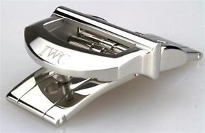 ウォッチ butterfly 【送料無料】腕時計 16 de de ancho ステンレススチールiwc mm acero pulido faltschliee inoxidable