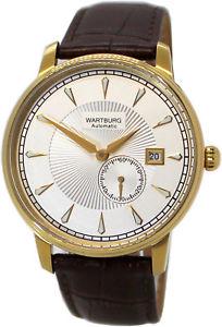 pulsera reloj oro hombre automtico acero fecha ip 【送料無料】腕時計 miyota cuero スチールブレスレットゴールドヴァルトブルククロックwartburg de ウォッチ