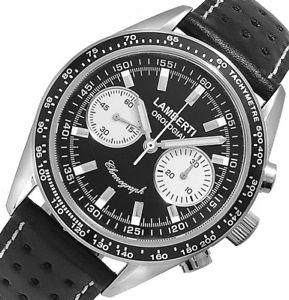 【送料無料】腕時計 ウォッチ lambertiorologiai mod 50508 nbz  chronodromo ottimo meccanico