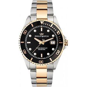 【送料無料】腕時計 ウォッチ オロロジィリップウォッチカリブスイスorologio philip watch caribe r8253597041 uomo watch swiss dorato bicolore oro