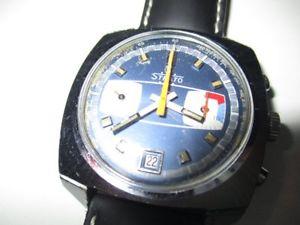 【送料無料】腕時計 ウォッチ ストラトクロノグラフstrato chronograph date funcionan 40 mm 60er aos