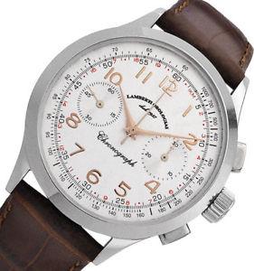 【送料無料】腕時計 ウォッチ クロノグラフオリーブlambertiorologiai  cronografo olive 2993r  meccanico con ruota a colonne