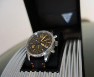 【送料無料】腕時計 ウォッチ アラームクロックオレンジスイスjunkers reloj hombre reloj g38 orange swiss flugweltrekorde