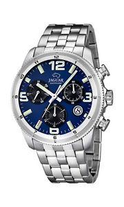 【送料無料】腕時計 ウォッチ ジャガークリスタルサファイアステンレススチールクロノグラフクロノアラームjaguar j6872 reloj hombre crongrafo chrono de acero inoxidable con cristal zafiro nuev