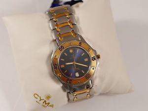 【送料無料】腕時計 ウォッチ ボックスアラームラベルnuevo anunciocyma oceana reloj hombre en caja con etiqueta sin usar