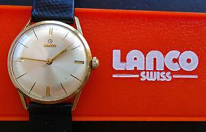【送料無料】腕時計 ウォッチ ゴールドヴィンテージコレクタスタイリッシュレディースlanco dorado 14k 585 vintage elegante coleccionista seores reloj de pulsera de 1960