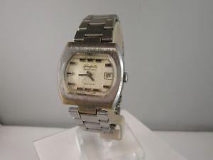 腕時計 ウォッチ ヴィンテージゴールドガラスe944  vintage vidriera spezimatic diseo idntico con el oro fuchs automatik