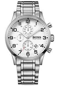【送料無料】腕時計 ウォッチ ヒューゴボスマンクロノアラームクロノグラフステンレススチールhugo boss 1513182 reloj hombre chrono chronograph acero inoxidable nuevo