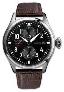 【送料無料】腕時計 ウォッチ ブラウンプラウpanzera flieger 47 arado marrn f4701dbr relojes 7