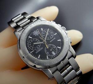 【送料無料】腕時計 ウォッチ ミッシェルステンレススチールスイスアラームクロノグラフmichel herbelin port rattrapante chronograph swiss seores reloj en acero
