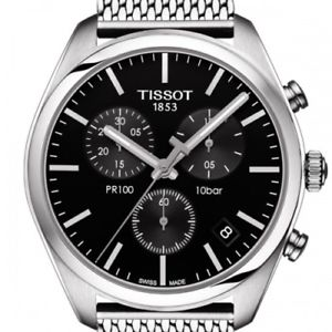 【送料無料】腕時計 ウォッチ ティソクロノグラフttissot pr 100 chronograph t1014171105101
