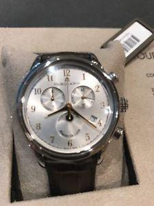 【送料無料】腕時計 ウォッチ モーリスロアレシルバークロノグラフmaurice lacroix les classiques, plata, 38 mm, crongrafo
