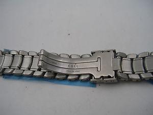 腕時計 ウォッチ ヌオーヴォebel 6524 bracciale nuovo in acciaio per orologio ebel