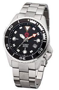 【送料無料】腕時計 ウォッチ プロダイブスチールブレスレットクリスタルサファイアpraetorian pro dive 300 automatikacero pulserareloj nuticocristal zafiro