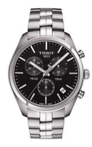 【送料無料】腕時計 ウォッチ ティソクロノグラフアラームtissot pr 100 chronograph reloj hombre t1014171105100