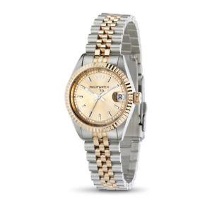 【送料無料】腕時計 ウォッチ オロロジィリップウォッチカリビアンピンクゴールドスイスorologio philip watch caribe r8253597503 donna pvd oro rosa bicolore watch swiss