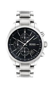 【送料無料】腕時計 ウォッチ ボスマンアナログクロノグラフタキメーターステンレススチールシルバーboss reloj hombre 1513477 analgico chronograph, taqumetro plata de acero inoxidable
