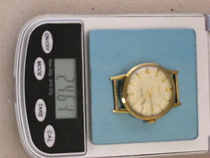 腕時計 ウォッチ kゴールドレディースクロックワークウォッチbifora 585er oro 14 k seores reloj pulsera funcionan reloj watch minuto 1930
