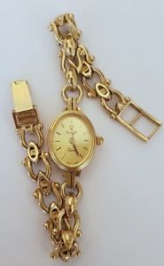 【送料無料】腕時計 ウォッチ レディースゴールドオリジナルウォッチseoras reloj de oro 9ct original vicence 23g