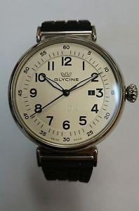 【送料無料】腕時計 ウォッチ グリシンポンドスチールスイスusado glycine 3932 14at lb7r hombres f104 automtico suizo reloj acero