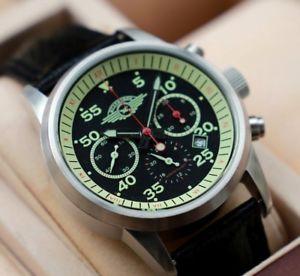 【送料無料】腕時計 ウォッチ クロノグラフ#chronograph poljot a estrenar shturmovik 35