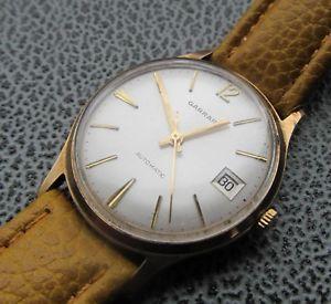 【送料無料】腕時計 ウォッチ ビンテージゴールドreloj pulsera vintage garrard calidad 9ct dorado fieltro