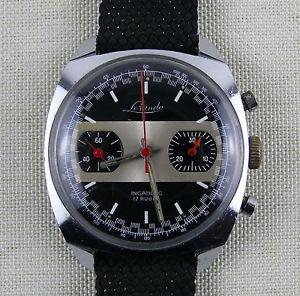 【送料無料】腕時計 ウォッチ クロノグラフlorando chronograph reloj de pulsera raramente wristwatch rare u1126