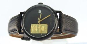 【送料無料】腕時計 ウォッチ スイスgcredit suisse automatikuhr eta automaticswiss made lingotes 1g oro fino 999