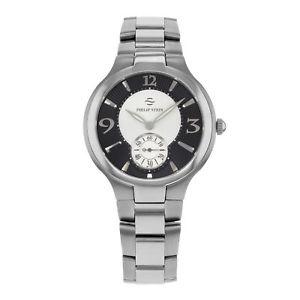 【送料無料】腕時計 ウォッチ フィリップスタインシグネチャステンレススチールクオーツクロックphilip stein firma cuarzo acero inoxidable reloj de hombre 43mbwss