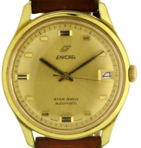 【送料無料】腕時計 ウォッチ スタージュエルオーシャンパールブレスレットヴィンテージアラームenicar star jewels ocean pearl brazaletes automatik vintage reloj hombre kal 1145