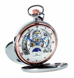 【送料無料】腕時計 ウォッチ カールフォンチェーンポケットウォッチcarl von zeyten reloj de bolsillo con cadena cvz0040rsl rosgoldplattiert edicin limitada a