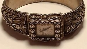 【送料無料】腕時計 ウォッチ ヴィンテージホテルコレットアルジェントウォッチmontre femme vintage calvy watch en argent