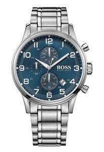 【送料無料】腕時計 ウォッチ ヒューゴボスマンクロノアラームクロノグラフステンレススチールhugo boss 1513183 reloj hombre chrono chronograph acero inoxidable nuevo