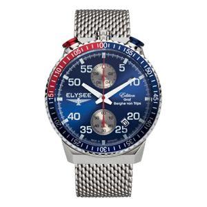 【送料無料】腕時計 ウォッチ ラリータイマーアラームelysee rally timer i, ref 80521m, reloj hombre