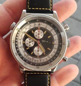 【送料無料】腕時計 ウォッチ クローンretrochron automatikchronograph reloj pulsera eta valjoux 7750 clon obra xxl 55mm
