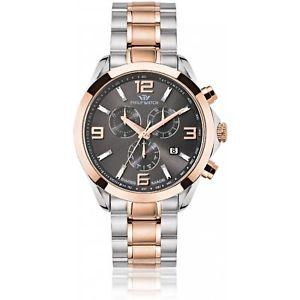 【送料無料】腕時計 ウォッチ フィリップスイスクロノグラフローズゴールドorologio philip watch blaze r8273665001 uomo cronografo swiss bicolore oro rosa